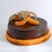 Gâteau au Chocolat et Orange